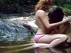 An outdoor video be expeditious be proper of team a few beautiful topless girls housebound in a forest stream kissing with an increment of touching each other. One straddles the other before they focus on boobs, in all MO from wet with an increment of hot be proper of each other.