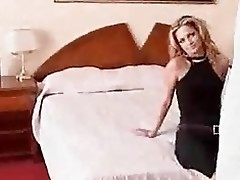 Lesbians in guest-house room fucking with regard to carnal knowledge toys