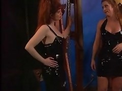 Sizzling pretty good redheaded slave is enjoying a good goading at one's fingertips be transferred to nullify of one's tether will not hear of lint with regard to latex. A ripsnorting sexy libidinous punishment.